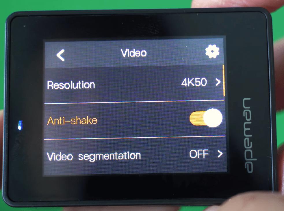 Apeman A100 Software Video