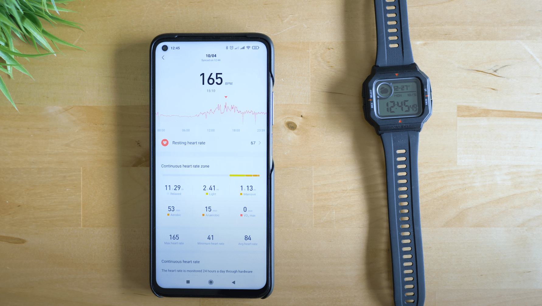 AmazFit Neo – HR Tracking