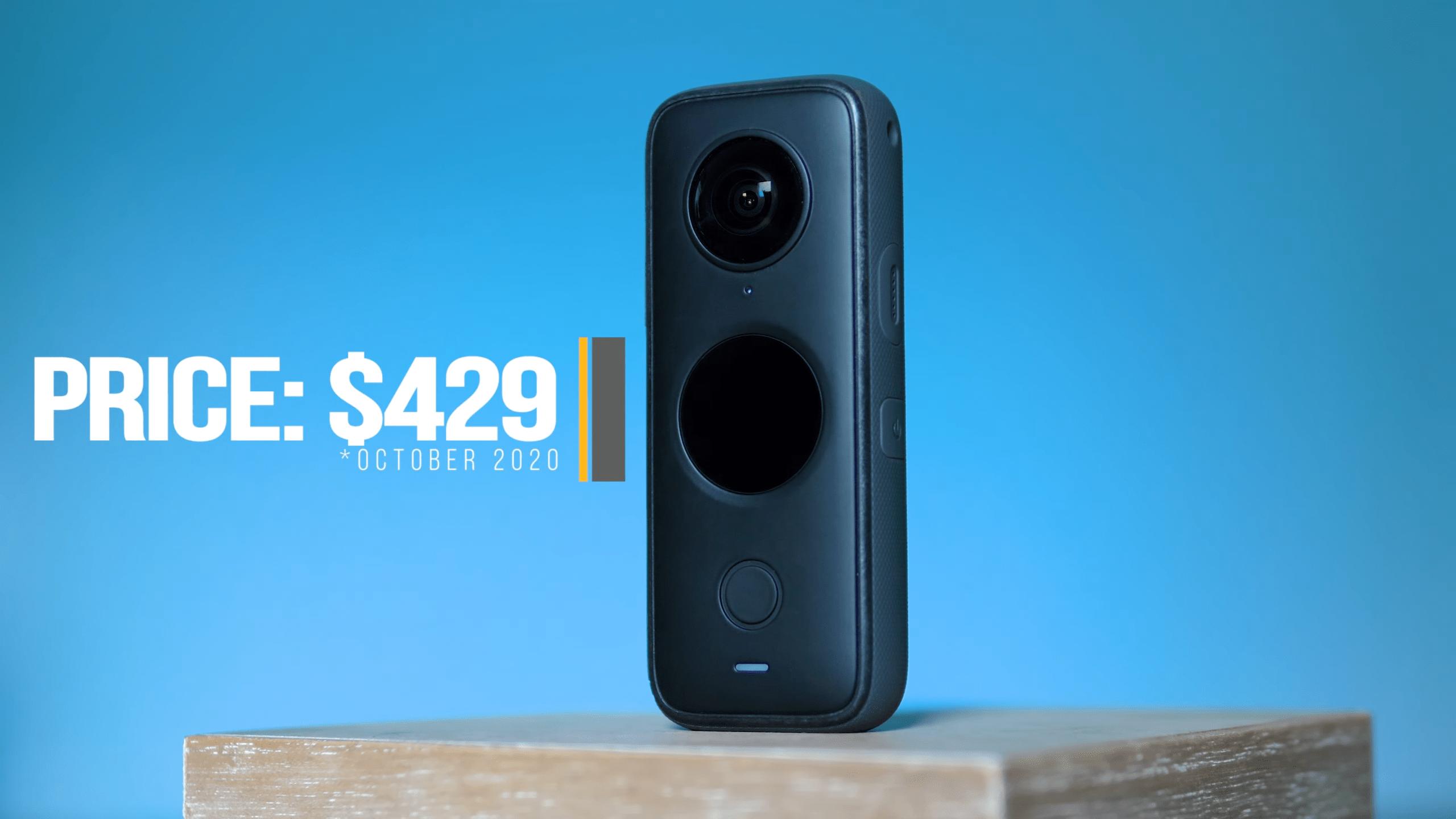Insta360 ONE X2 Panoramic Action Camera Price