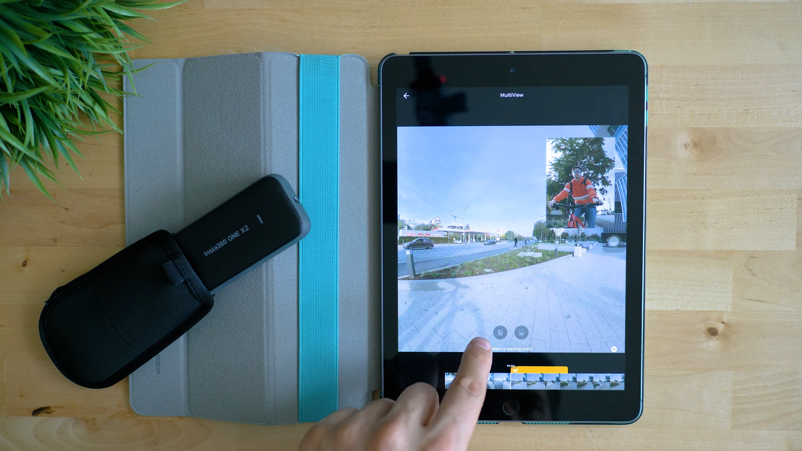 Insta360 ONE X2 Picture in Picture