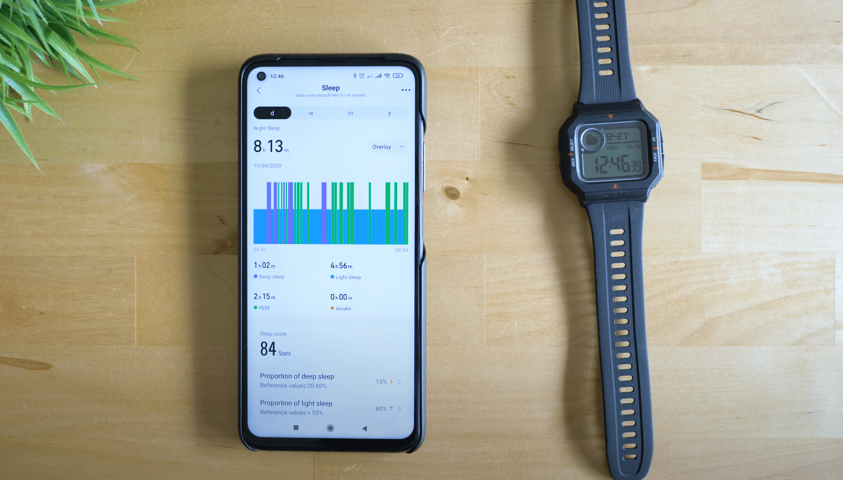 AmazFit Neo - Sleep Tracking
