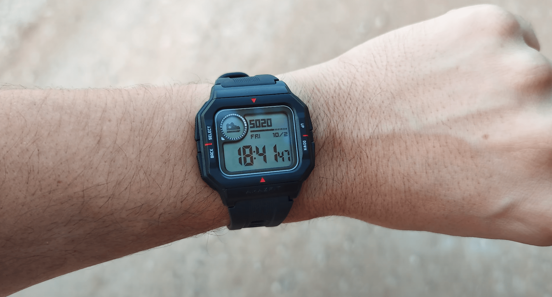AmazFit Neo – Steps Tracking