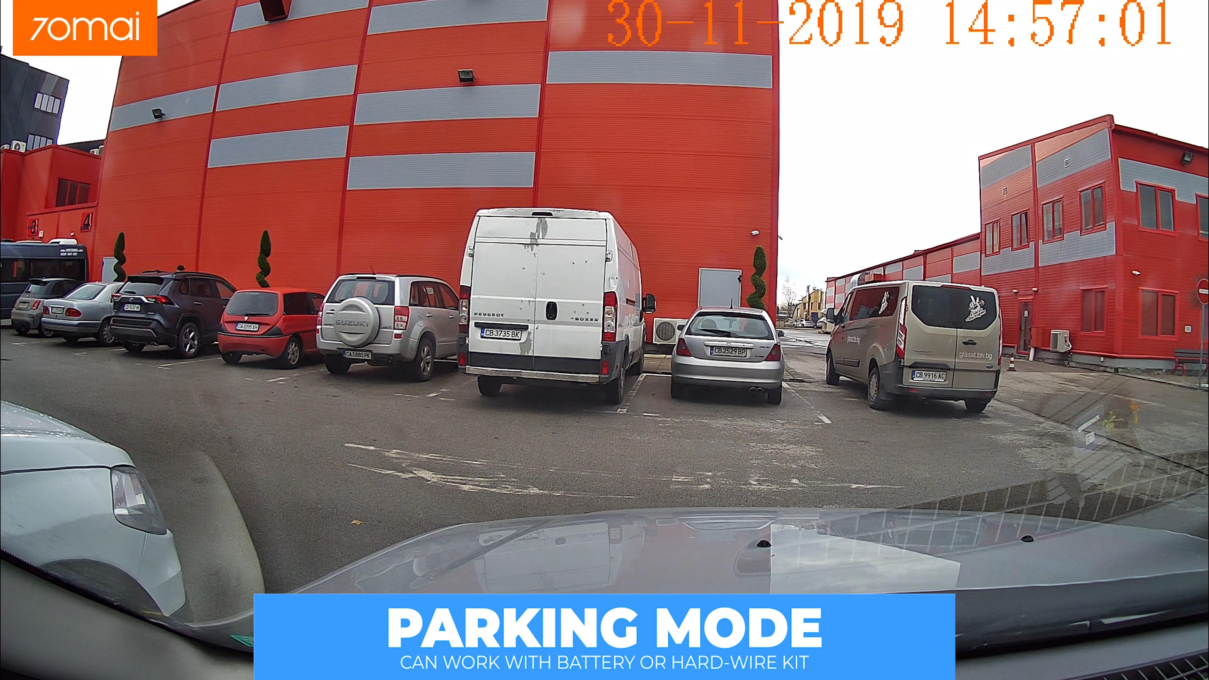Xiaomi 70Mai mini Camera Parking mode