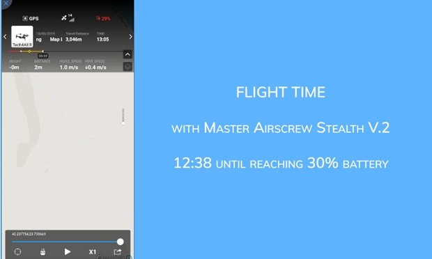 Master Airscrew Flight time