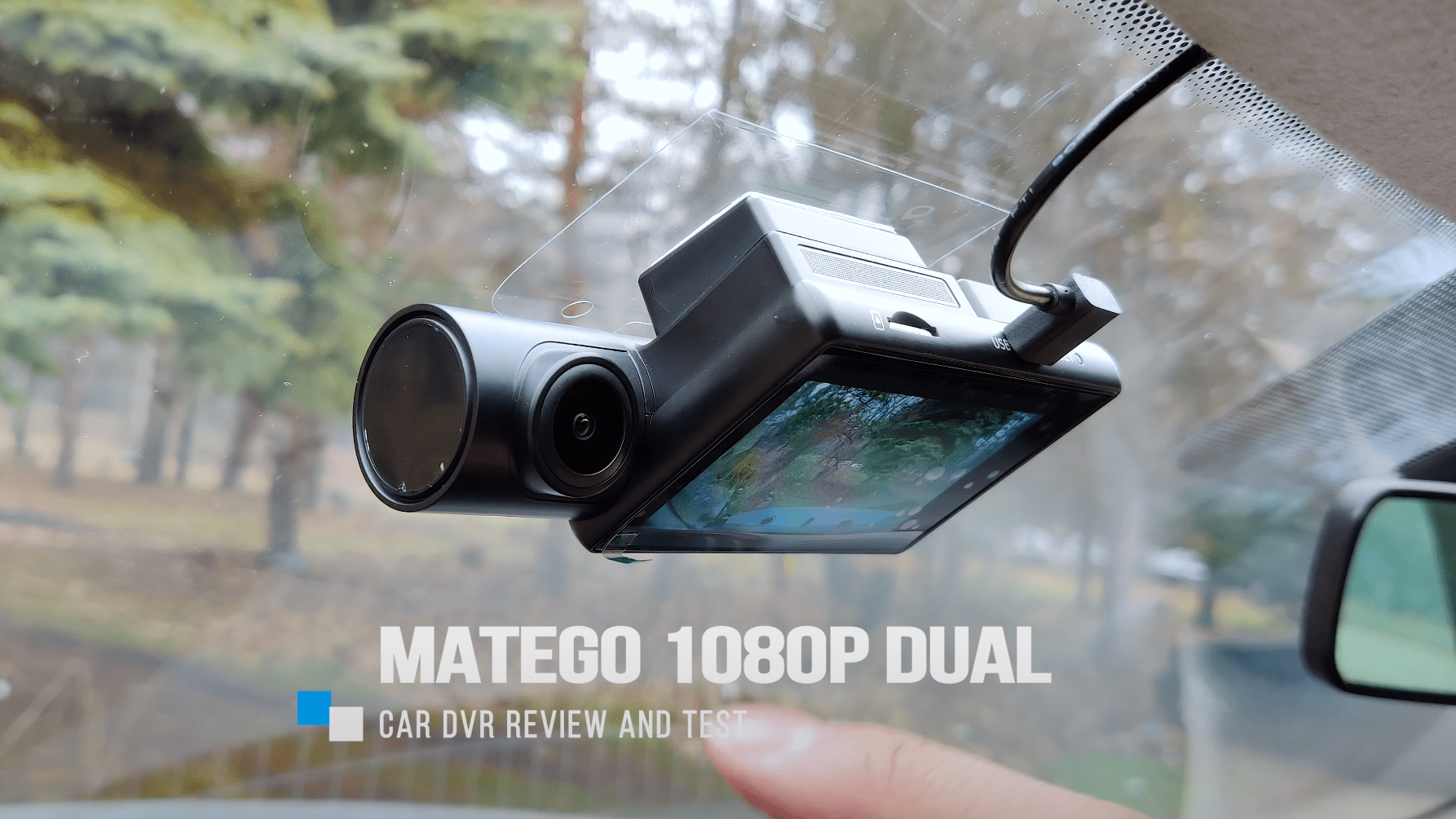 Matego Dual Dashcam